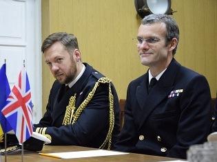"""""""Візит корабля – це черговий крок Великої Британії на підтримку України"""""""