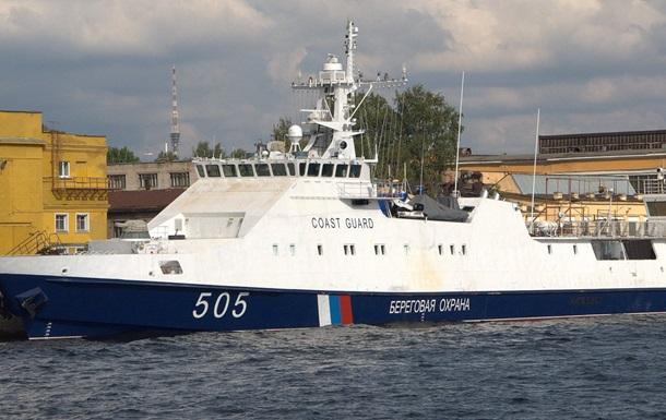 До Каркінітської затоки у Чорному морі повернувся прикордонний сторожовий корабель Берегової охорони ФСБ Росії «Аметист»