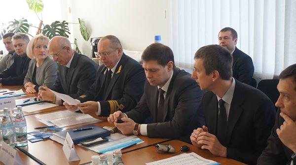 Місія Європейського Союзу відвідала Бердянський морський порт