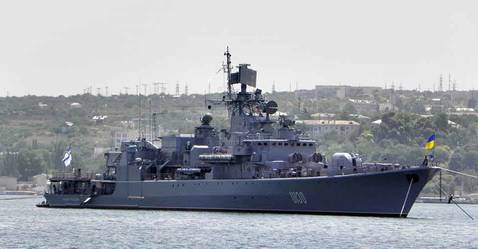 """Міська рада Дніпра вирішила взяти шефство над фрегатом """"Гетьман Сагайдачний"""""""