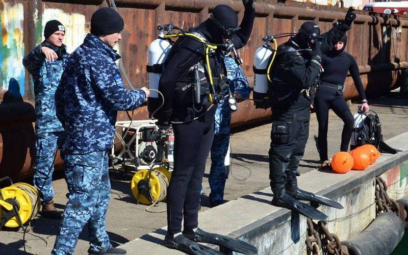 В Практичній гавані Одеси відбувся черговий тренувальний день водолазних спеціалістів ВМС (ФОТО)