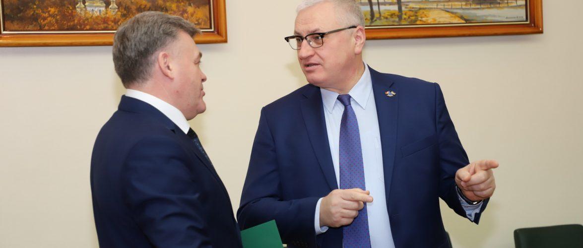 Глава Місії Європейського Союзу з прикордонної допомоги Україні та Республіці Молдова відвідав Держприкордонслужбу