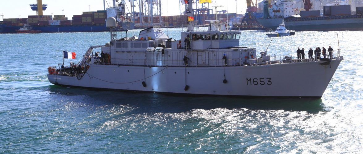 До Одеси прибув корабель ВМС Франції