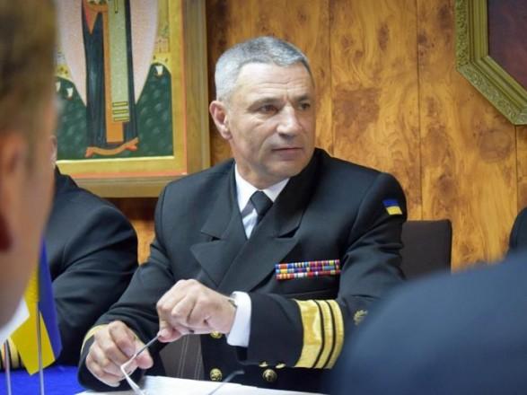 Командувач ВМС ЗС України зустрівся з представниками ВМС США