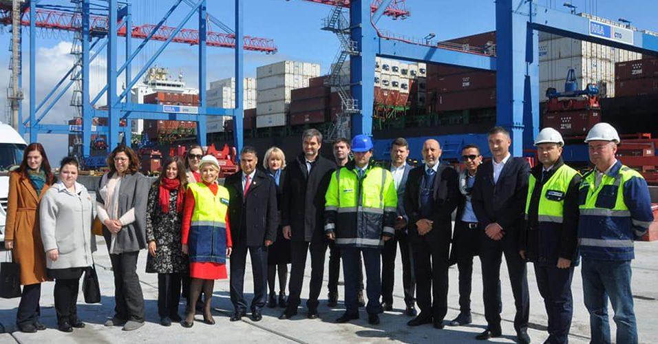 Одеський порт відвідала делегація міста Мароккеш
