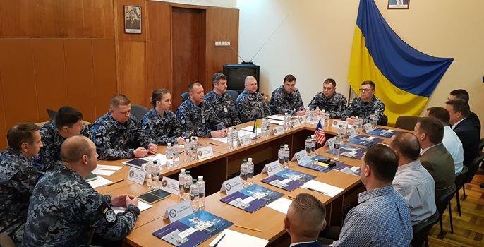 В Одесі пройшла робоча зустріч представників 6-го флоту ВМС США з командуванням ВМС ЗС України