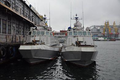 У ВМС ЗС України тривають випробування двох десантно-штурмових катерів типу «Кентавр»