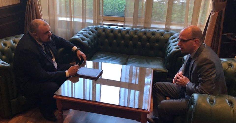 Очільник Морської Адміністрації зустрівся з Генеральним Секретарем Паризького Меморандуму (Paris MOU)