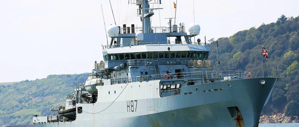 Британський корабель-розвідник HMS Echo (H87)  ввійшов до Чорного моря