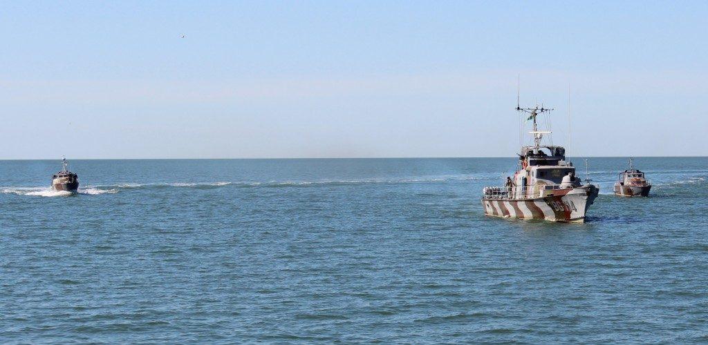 В Азовському морі під контролем Морської охорони перебувають всі загрозливі напрямки