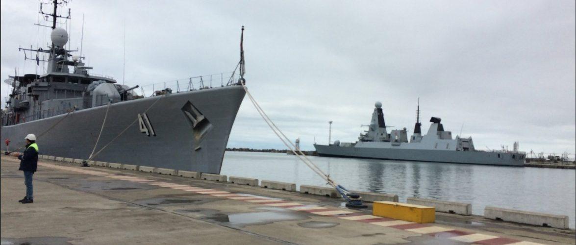 До Чорного моря увійшла група кораблів НАТО наразі група становить шість фрегатів