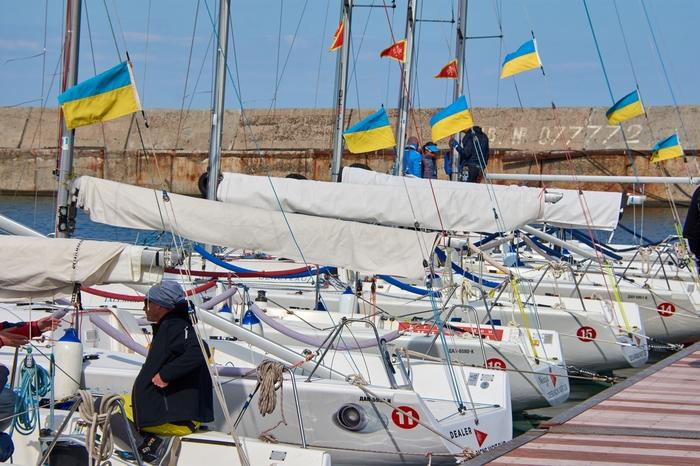 Морська пошуково-рятувальна служба забезпечила безпеку учасників вітрильної регати «Кубку ORYC»