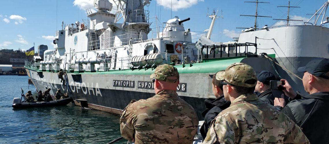 Персонал Морської в Ізмаїлі охорони приступив до виконання завдань