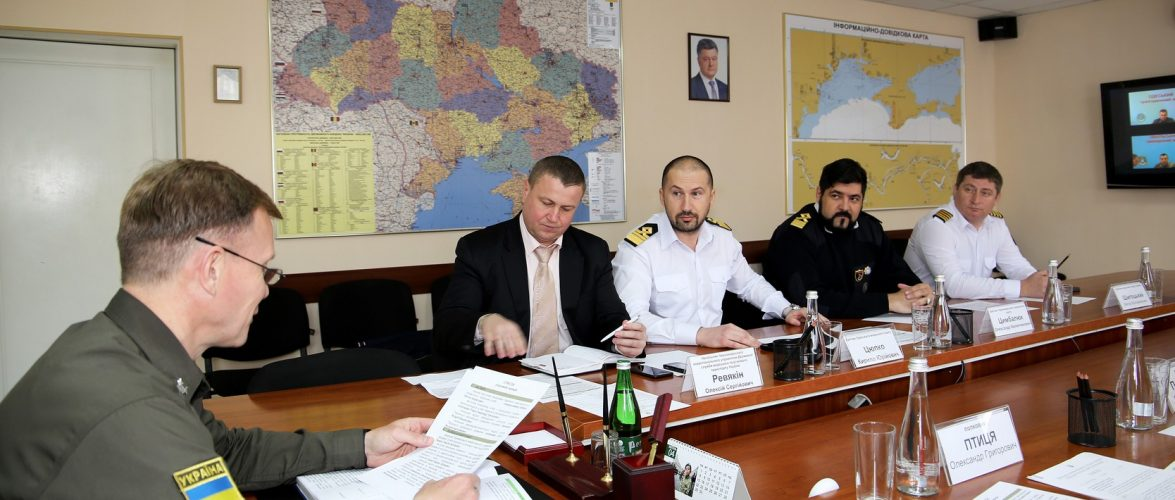 У Південному регіональному управлінні відбулася спільна нарада з представниками Державної служби морського та річкового транспорту України