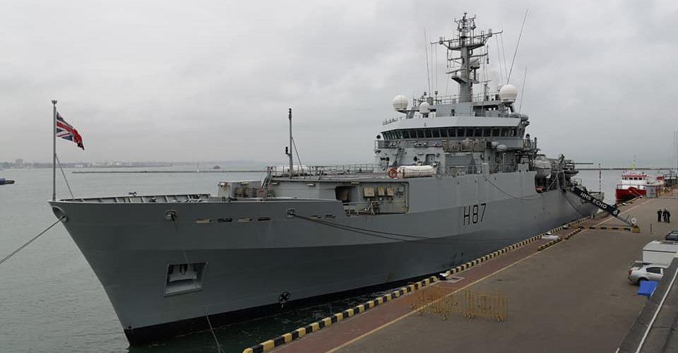 До Одеси прибуло гідрографічне судно Королівських ВМС Великої Британії «ЕCHO»