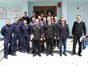 Курсанти Інституту ВМС взяли участь у навчаннях на тактичних тренажерах на базі Академії ВМС Республіки Болгарія.