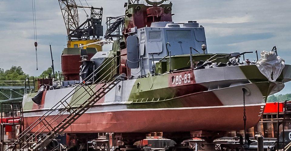 «Дунайсудносервіс» завершив ремонт прикордонного сторожового катера «Ніжин».