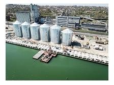 В Маріупольському порту завершився монтаж даху шостої банки зернового терміналу