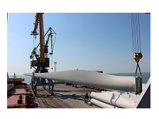 GE Renewable Energy планує перевантажити через порт Бердянськ 221 комплектів вітряків у 2020 році