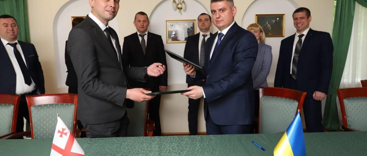 Прикордонні оперативні підрозділи України та Грузії підписали протокол про співробітництво