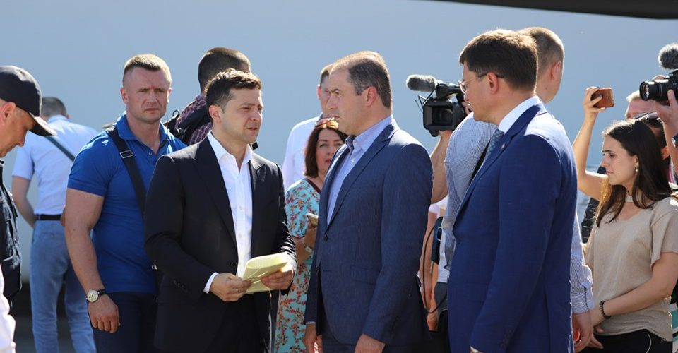 Маріупольський порт відвідав Президент України Володимир Зеленський