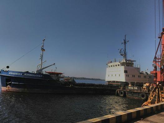 Херсонський морський порт поновив роботи з експлуатаційного днопоглиблення