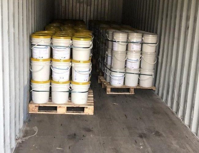 У порту Одеси виявлено розчинений у фарбі кокаїн вартістю $20 млн, – СБУ