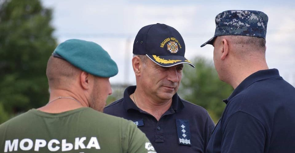 Командувач ВМС України адмірал Ігор Воронченко побував у польовому таборі «Сі Бриз – 2019»