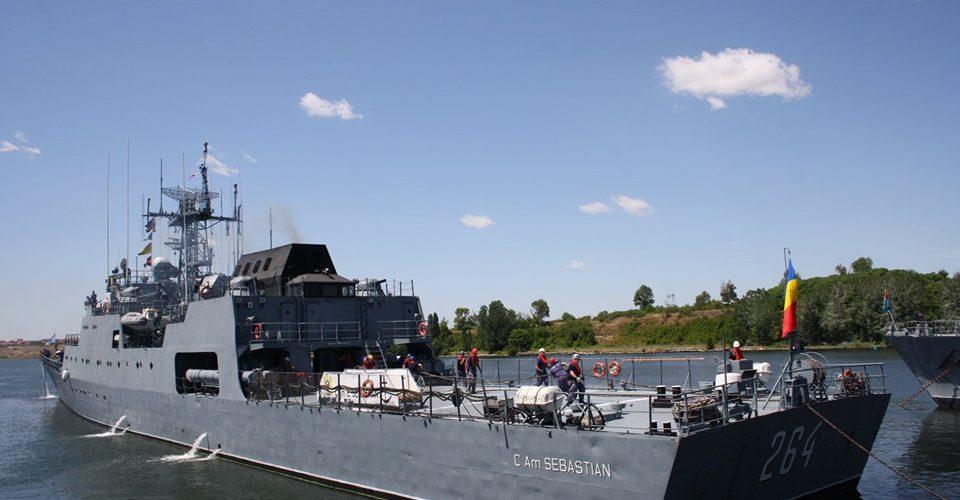 """Три румунських військових корабля йдуть в Одесу для участі у """"Сі Бриз-2019"""""""
