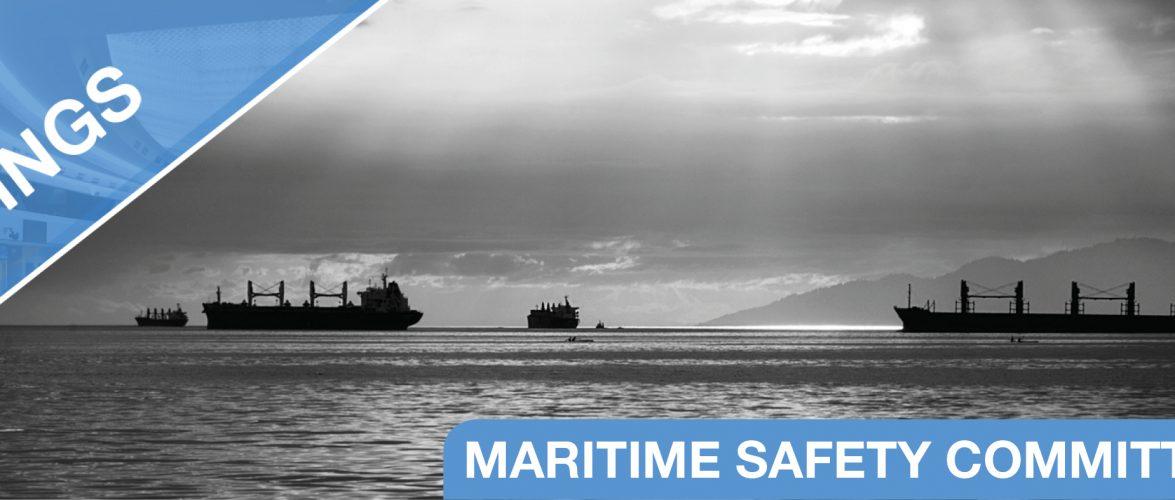Звіт про роботу 101 сесії Комітету безпеки мореплавання (КБМ)