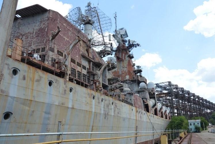 """Крейсер """"Україна"""" нам точно не потрібен, а корвет – потрібен дуже, – Міністр оборони України"""