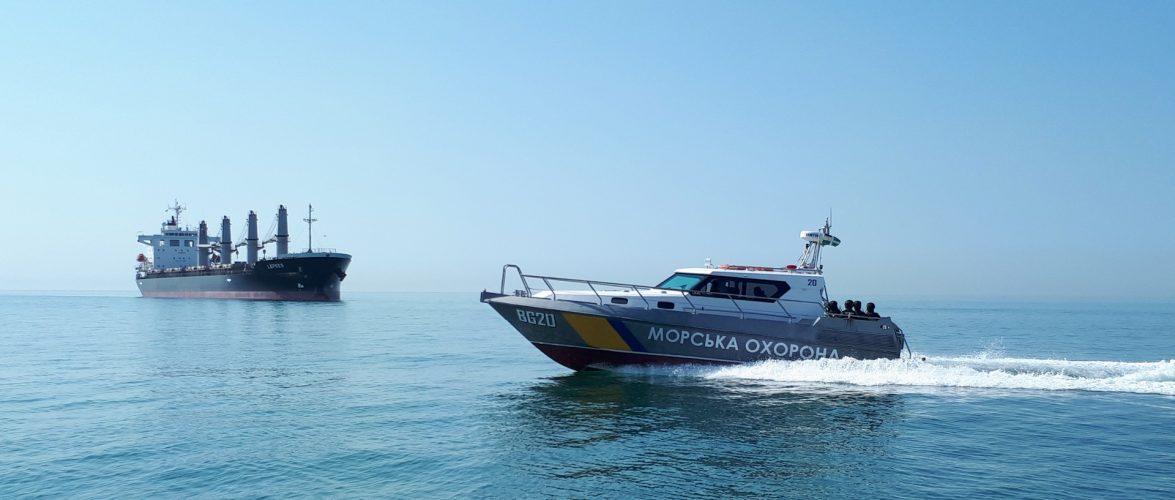Морські прикордонники контролюють переміщення суден та законність ведення промислу від Дунаю до Азова
