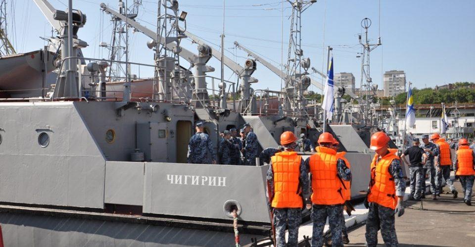 Навчальні катери «Нова Каховка», «Сміла» та «Чигирин» вийшли в море на практику