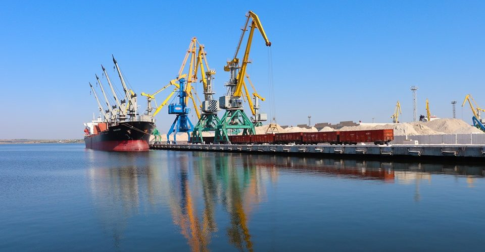 Порт Ольвія в січні-липні обробив понад 1,5 млн тонн вантажів