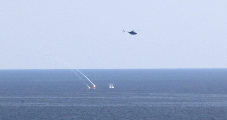 Морська авіація тренувалась знищувати підводні човни в Чорному морі