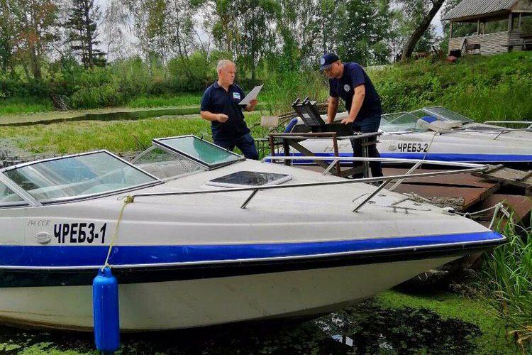 Держгідрографія проводить позачергову експедицію на річці Прип'ять