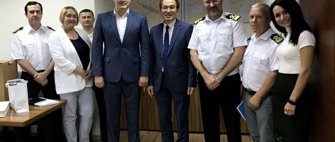 У Держгідрографії з візитом ввічливості побував радник-посланник Посольства Республіки Корея О ДжунгГин