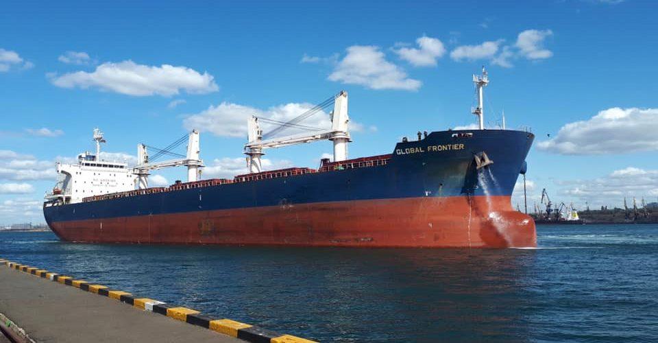 У порт Південний зайшло судно Global Frontier під навантаження карбамідом