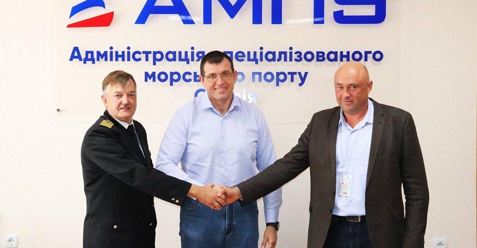 """Представники компанії """"Kernel"""" відвідали порт """"Ольвія"""" з метою оцінки проекту концесії"""