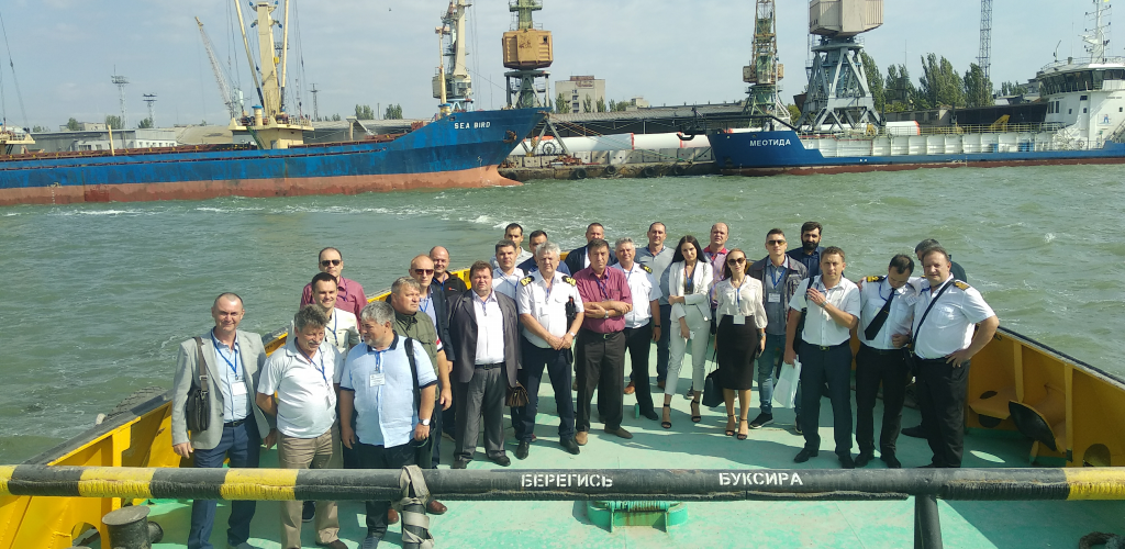 """В Бердянську відбулось виїзне засідання комітету з механізації, технології та інформатики Асоціації портів України """"Укрпорт"""""""