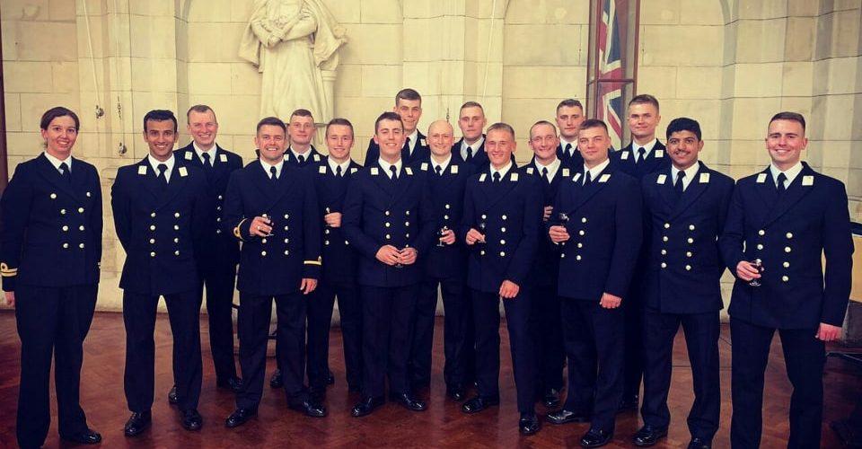 Два курсанти Інституту ВМС пройшли навчання у оледжу Королівських військово-морських сил «Британія»