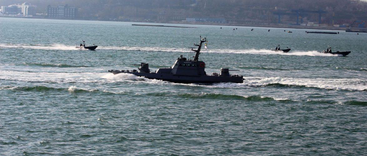 В акваторії Чорного моря розпочались навчання корабельно-катерного складу ВМС України
