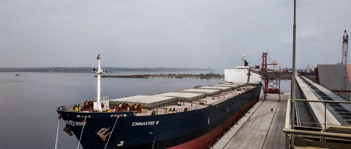 У жовтні «ЄВТ Грейн»прийняв судна класу Панамакс