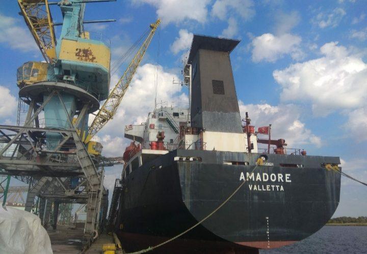 """За вересень """"Херсонський морський торговельний порт"""" обробив 123,1 тисяч тонн вантажу"""