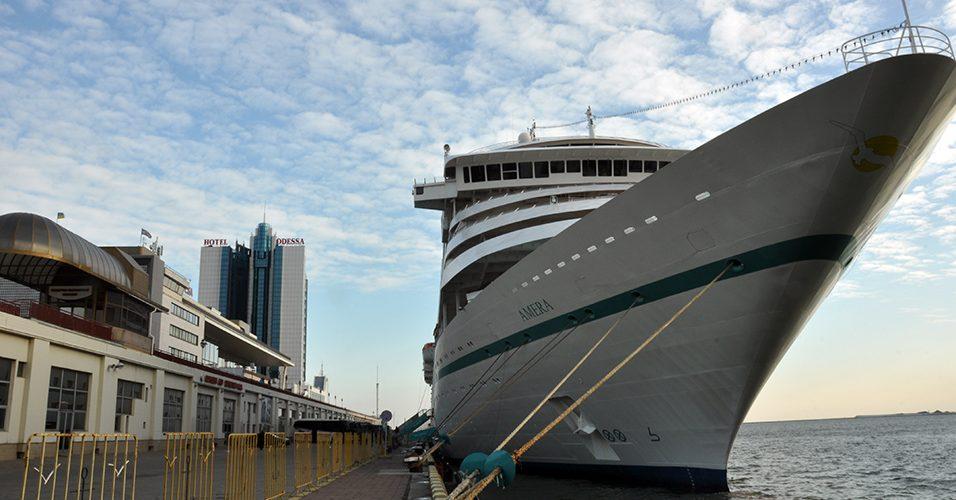 До Одеського порту зайшов круїзний лайнер MS AMERA