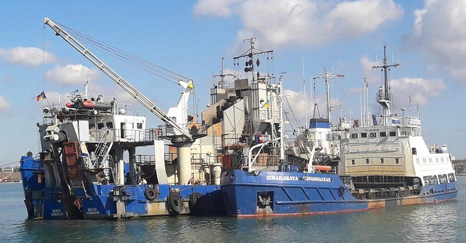 Днопоглиблення в порту Бердянськ: вилучено 200 тис.куб.м. грунту
