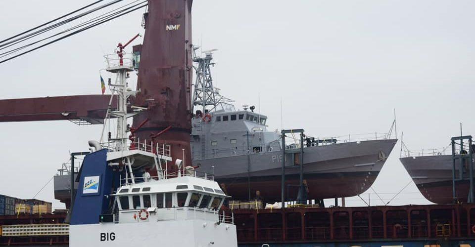Два патрульні катери типу Island – «Слов'янськ» та «Старобільськ» прибули з США в Україну