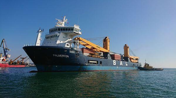 Бердянський порт прийняв друге судно з вітрогенераторами для Запорізької ВЕС