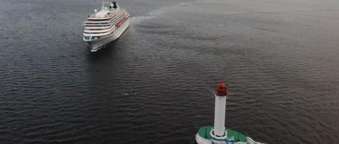 Вперше з 2017 року до Одеського порту зайшов іноземний круїзний лайнер