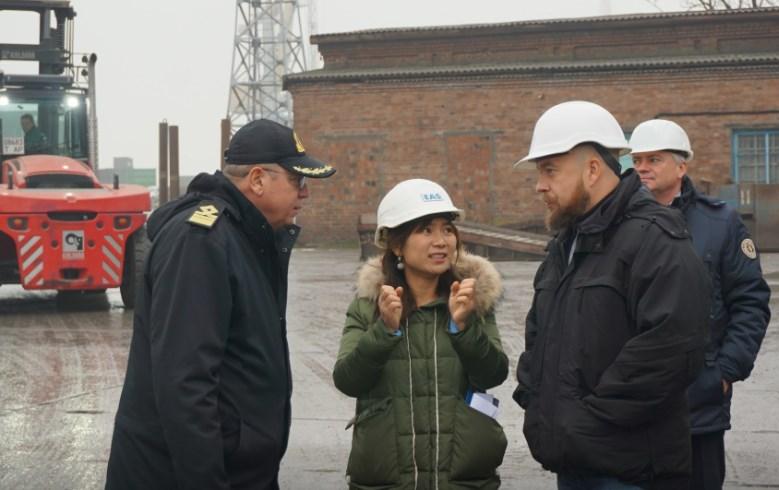 """Бердянський морський торговельний порт відвідала делегація китайського виробника вітроенергетичного обладнання """"Goldwind"""""""